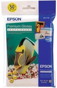 C13S041729 EPSON Premium Glossy Photo бумага 10 x 15, 255 г/м2, 50 листов