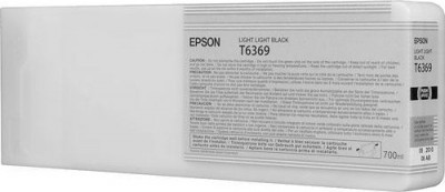 C13T636900 Epson картридж (Light Light Black для Stylu PRO 7900/9900 (700ml) (светло-серый))