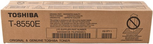 6AK00000128 T-8550E Toshiba тонер для копиров e-STUDIO555/655/755/855 1 шт. (62400 отпечатков)