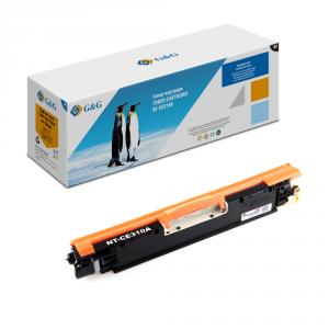 NT-CE310A G&G Тонер-картридж черный для HP Color LaserJet CP1025/1025nw, Canon LBP-7010C (1200стр)