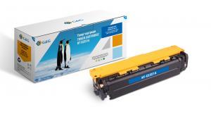 NT-CE321A G&G Тонер-картридж голубой для HP Color LaserJet Pro CP1525N/NW, CM1415FN/FNW (1300стр)