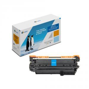 NT-CE401A G&G Тонер-картридж голубой для HP LaserJet Enterprise 500 color M551 (6000 стр)