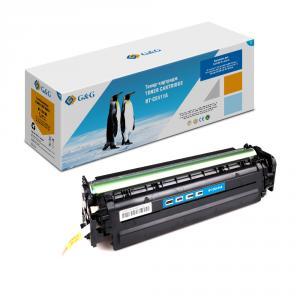 NT-CE411A G&G Тонер-картридж голубой для HP LaserJet Pro 300 color M351 Pro400 color M451 (2600стр)