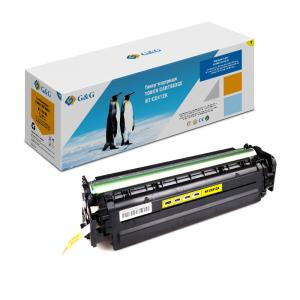 NT-CE412A G&G Тонер-картридж желтый для HP LaserJet Pro 300 color M351 Pro400 color M451 (2600стр)