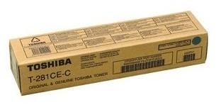 6AK00000046 T-281C-EС Toshiba тонер бирюзовый для копиров e-STUDIO281c/351c/451c