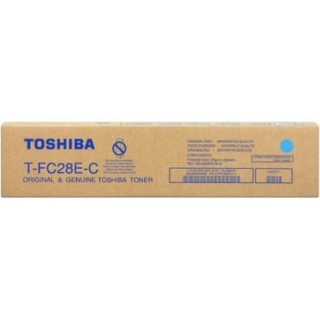 T-FC28EC Toshiba тонер бирюзовый для копиров e-STUDIO2330c/2820c/3520c/4520c 1 шт. (24000 отпеч.)
