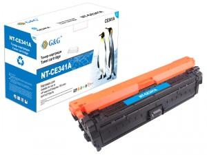 NT-CE341A G&G Тонер-картридж голубой для HP Color LaserJet Enterprise 700  M775 (15000стр)