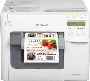 C31CD54012CD EPSON TM-C3500 Color label printer принтер