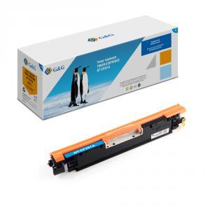 NT-CF351A G&G Тонер-картридж голубой для НР LaserJet Pro Color M176/176FN/M177/M177FW (1000стр)