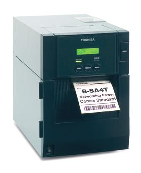 18221168676 Toshiba Принтер термотрансферный Toshiba B-SA4TP-TS12-QM-R 300 dpi