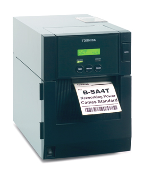18221168664 Toshiba Принтер термотрансферный Toshiba B-SA4TM-GS12-QM-R 203 dpi