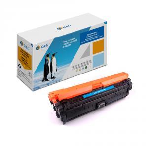 NT-CE271A G&G Тонер-картридж голубой для НР Color LJ CP5525n/dn/xh Canon LBP9100-9600 (15000стр)