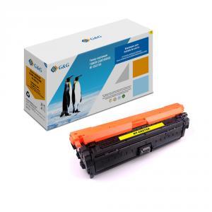 NT-CE272A G&G Тонер-картридж желтый для НР Color LJ CP5525n/dn/xh Canon LBP9100-9600 (15000стр)