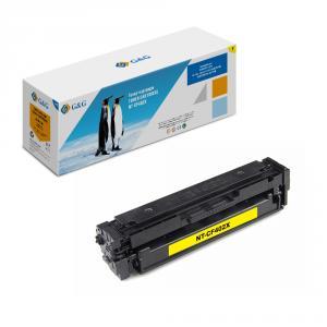 NT-CF402X G&G Тонер-картридж желтый для НР LaserJet Color M252 /n/dn/dw M277n/dw (2300стр)