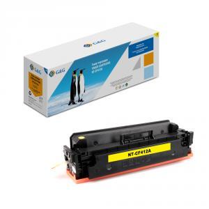 NT-CF412A G&G Тонер-картридж желтый для НР LaserJet Color M452 dn/dw/nw M477 fdn/fdw/fnw (2300стр)