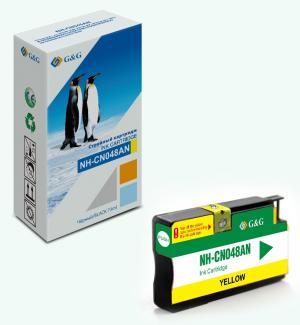 NH-CN048AN G&G струйный желтый картридж 951XL для HP OJ Pro 8100/8600-8660/251dw/276dw 26ml