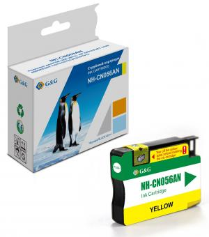 NH-CN056AN G&G струйный желтый картридж 933XL для HP OJ Pro 6100/6600/6700/7110/7510/7610/7612 14ml