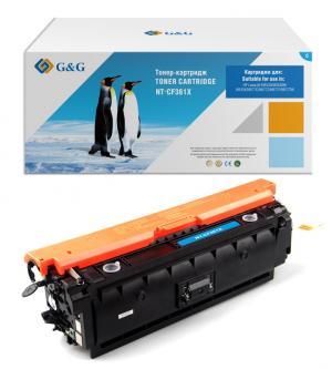 NT-CF361X G&G Тонер-картридж голубой для НР LaserJet Pro Color M533/577 c/f/x/z/n/dn (9500стр)