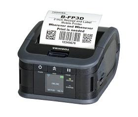 18221168866 Toshiba принтер B-FP3D-GS40-QM-R(N) (USB+WLAN NFC) 203dpi